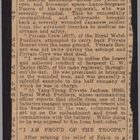 Articles from Various Newspapers re: General Gaselee Praises Welsh Fusiliers on Relief of Peking, [1900]