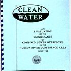 Evaluation of the Significance of Combined Sewer Overflows in the Hudson River Conference Area, June 1969