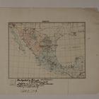 Map of Mexico, November 7, 1913