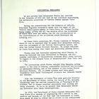 Confidential Memo re: Ambassador Whelan, August 8, 1957