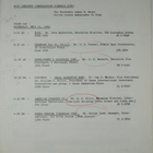 Business Council for International Understanding Schedule of Events Addressed to Armin H. Meyer, July 21, 1965