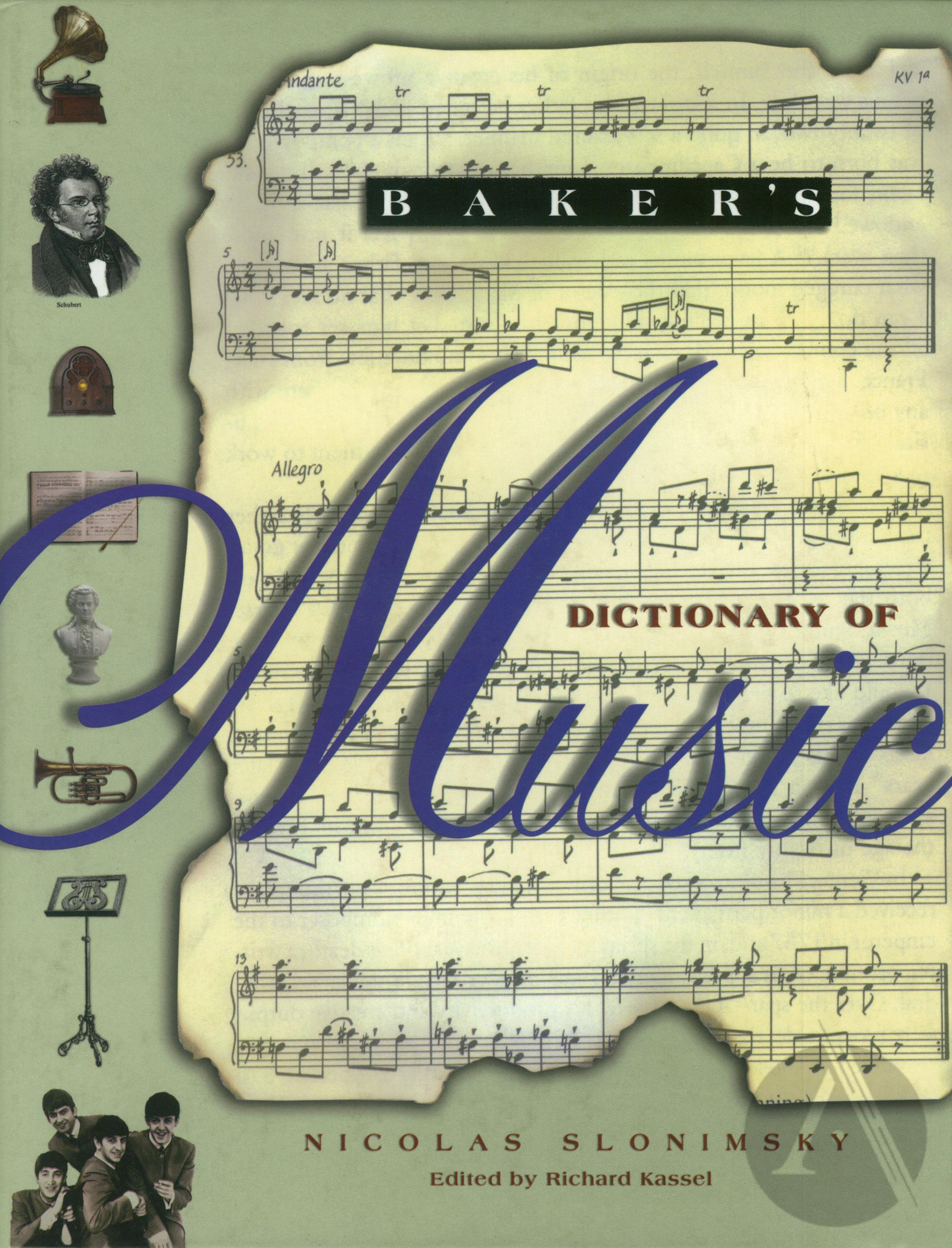 Baker's Dictionary of Music - Part 5 | Alexander Street, a ProQuest Company