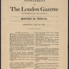 Military Promotions and Honors, London Gazette Supplement, July 25, 1901