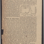 Newspaper Articles re: Polluted Air Over the Towns, I - Lessons of the London Fog, II - Remedies and Their Cost, 1953 circa