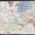 Partial Map of Asia from Burma to Hong Kong, Undated