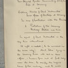 Arrangements Made Between Rear Admiral Giesler and Captain A. C. Clarke In Case of Hostilities with the Chinese, September 13, 1900