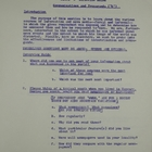 Columbia University Research Project on Hungary Interview Guide - Communications and Propaganda, 1959