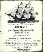 Copy of the handwritten Journal of the Voyage of H.M.S. Buffalo from Portsmouth to the New Colony of South Australia. . . with. . . Governor Hindmarsh