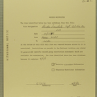 Access Restricted Notice for Item from Folder: Border Incidents, September-December 1949