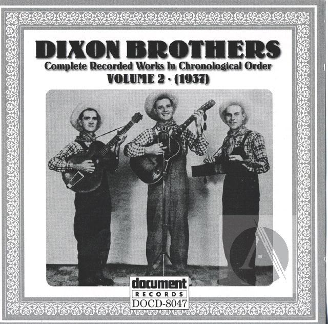 Dixon Brothers Vol  2 (1937) | Alexander Street, a ProQuest