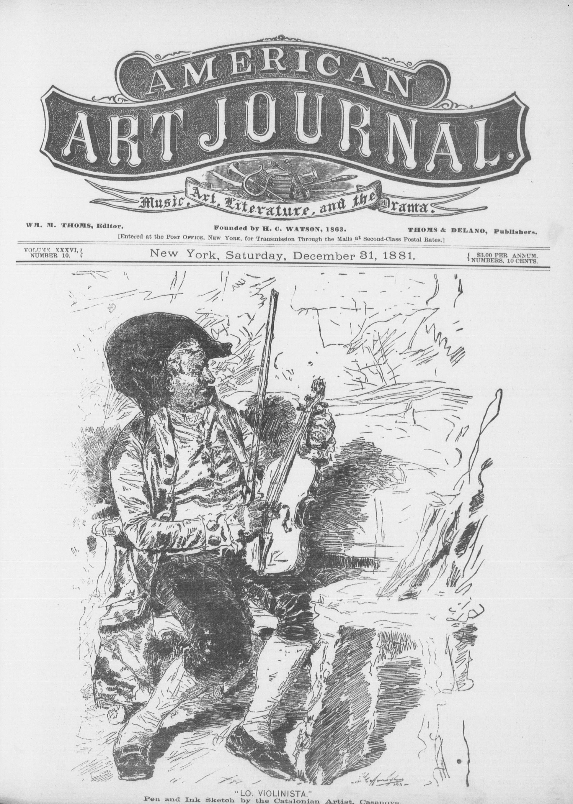 American Art Journal, Vol  36, no  23, December 31, 1881