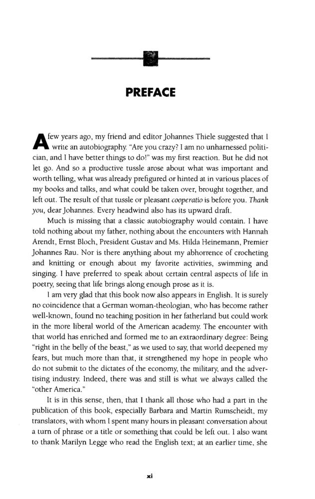 how to write a preface for a paper